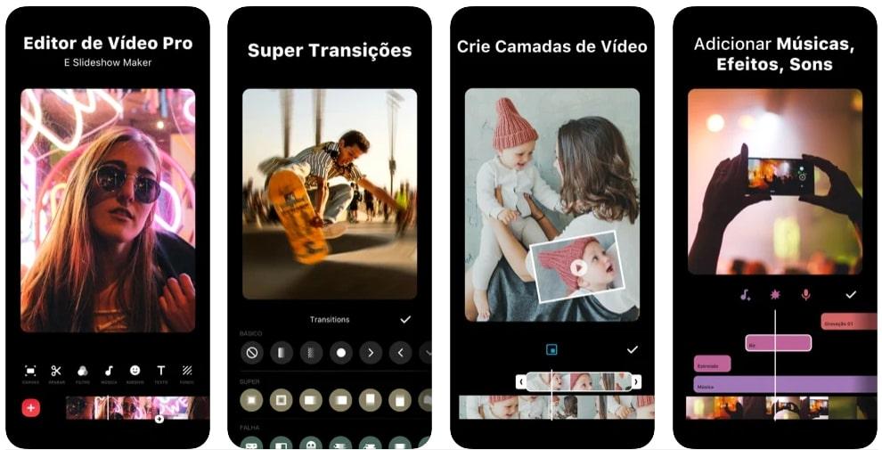 captura de tela InShot