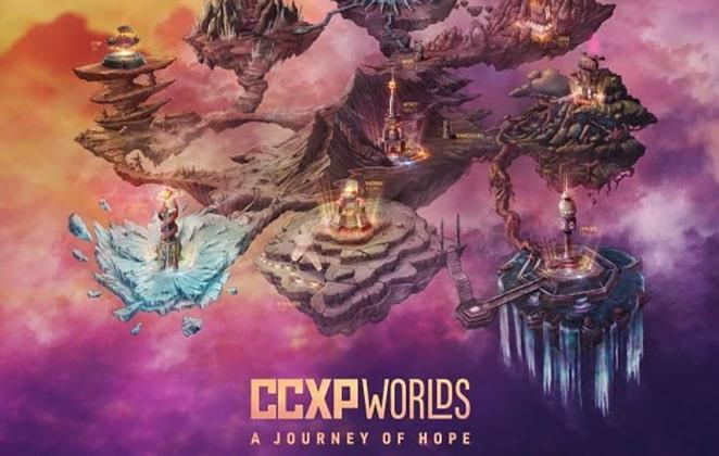 imagem divulgação da comic con experience worlds 2020