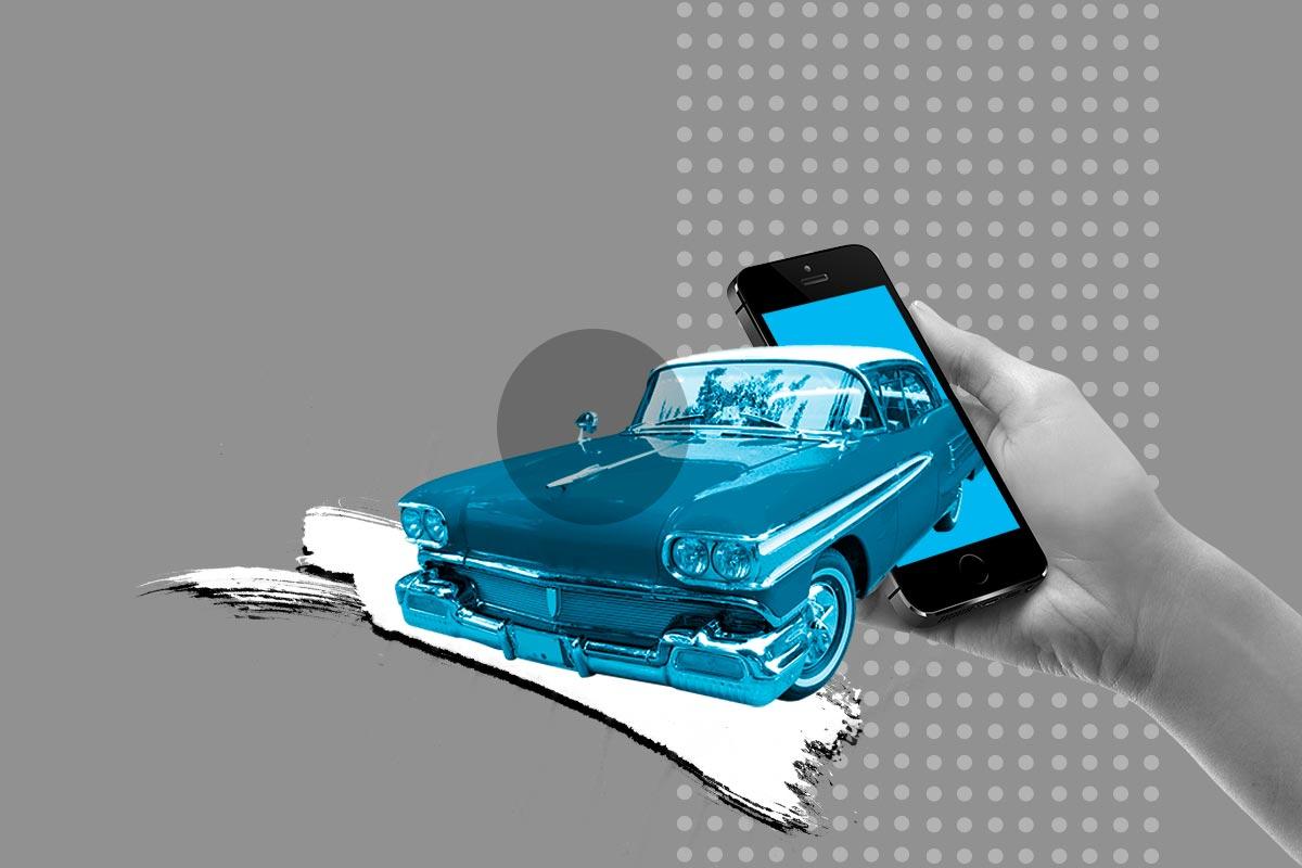 """capa artigo """"aplicativos para carros"""""""