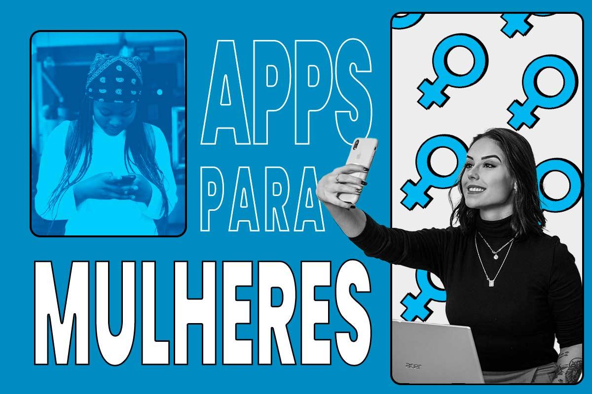 """capa do artigo """"aplicativos para mulheres"""""""